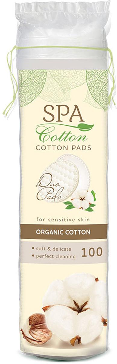 Spa Cotton Ватные диски Organic, 100 ш гигиена для мамы spa cotton ватные диски bamboo