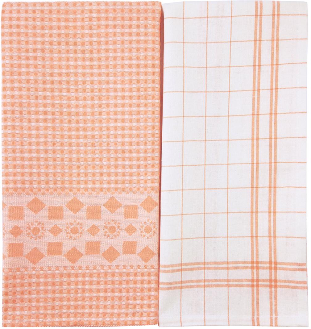 Набор кухонных полотенец Arloni Скандинавия, цвет: оранжевый, 50 х 70 см, 2 шт. 5028.1ARL5028.1ARLНабор Arloni состоит из двух кухонных полотенец, выполненных из натурального хлопка. Изделия выполнены из натурального материала, поэтому являются экологически чистыми.Высочайшее качество материала гарантирует безопасность не только взрослых, но и самыхмаленьких членов семьи. Полотенца хорошо впитывают влагу, приятны на ощупь, имеютсовременный стильный дизайн, который подойдет под любой интерьер.Набор кухонных полотенец Arloni будет прекрасным помощником на кухне для каждой хозяйки.Такие полотенца долгое время будет радовать вас яркими красками и высоким качеством.