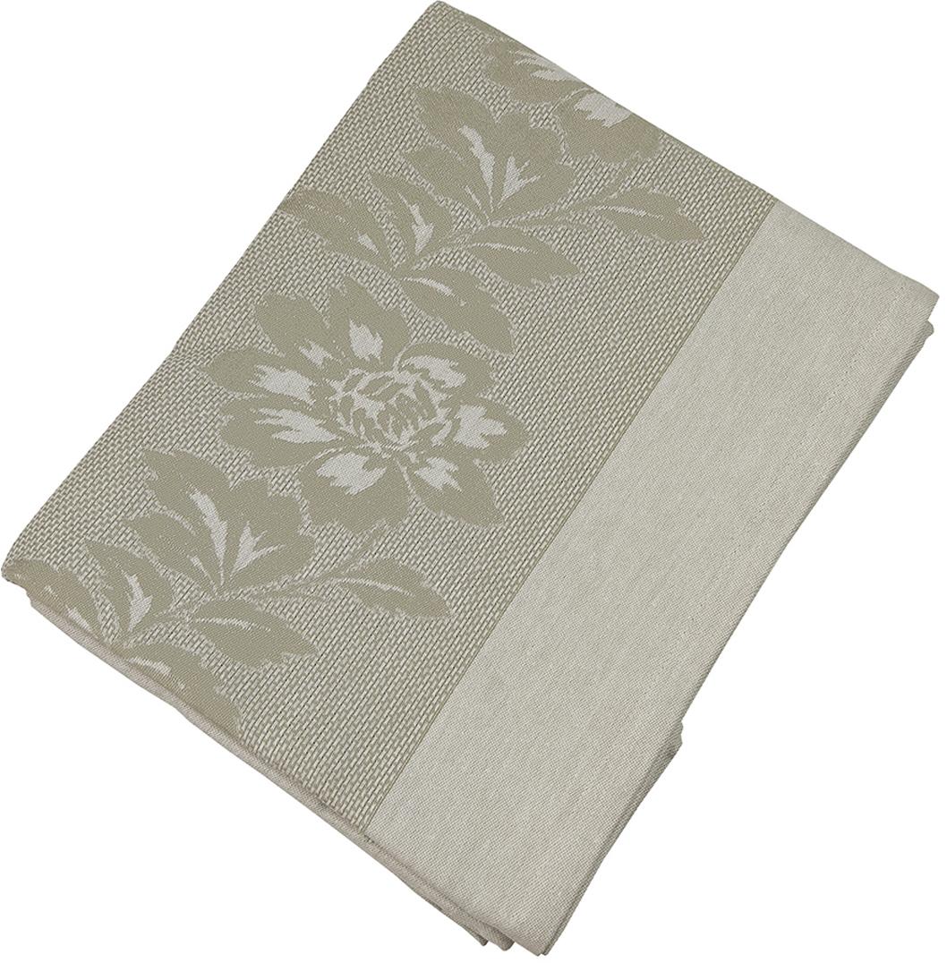 """Прямоугольная скатерть Arloni """"Helen"""" изготовлена из натуральной плотной испанской ткани (100% хлопок). Высокие экологические свойства ткани позволяют использовать изделие не только в качестве декоративного оформления, но и для сервировки обеденного стола. Скатерть хорошо сочетается с другими элементами кухонного текстиля и имеет универсальный размер."""