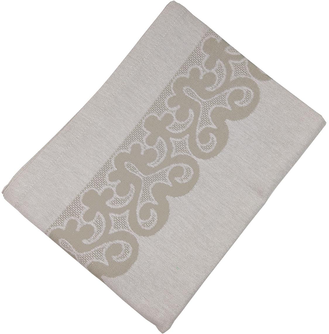 Скатерть Arloni Rich, прямоугольная, 150 х 150 см. 8043ARL8043ARLКвадратная скатерть Arloni Rich изготовлена из натуральной плотной испанской ткани (100% хлопок). Высокие экологические свойства ткани позволяют использовать изделие не только в качестве декоративного оформления, но и для сервировки обеденного стола. Скатерть хорошо сочетается с другими элементами кухонного текстиля и имеет универсальный размер. Красиво смотрится как на круглом, овальном, так и на прямоугольном столе.