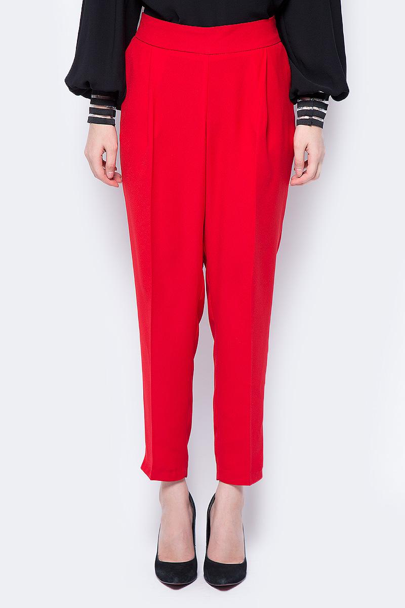 Брюки женские adL, цвет: красный. 15333672000_006. Размер XS (40/42) джинсы женские на широкой резинке