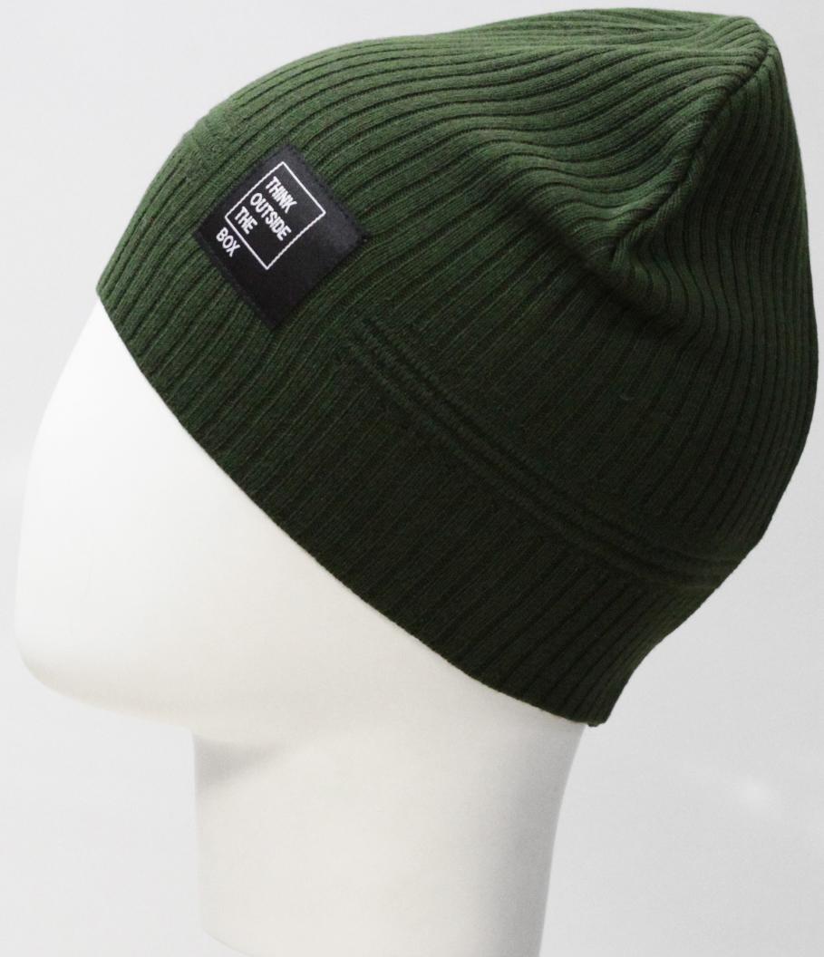 Шапка для мальчика Marhatter, цвет: зеленый. MBH8203. Размер 52/54