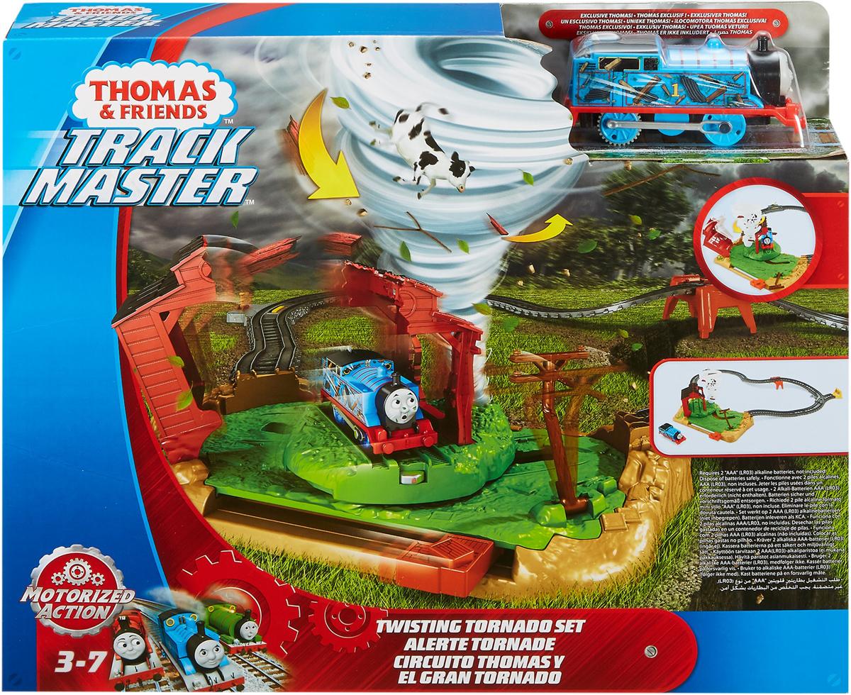 Thomas & Friends Железная дорога Томас и его друзья Игровой набор делюкс Невообразимый торнадо - Железные дороги