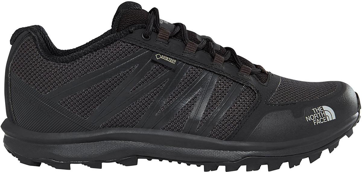 Кроссовки мужские The North Face M LITEWAVE FP GTX , цвет: черный. T93FX4C4V. Размер 14 (48)T93FX4C4VЕсли вам нужен универсальный, легкий кроссовок с отличной поддержкой и прекрасным держанием на разной поверхности - обратите внимание на модельLitewave Fastpack GTX. Сделанная с использованием мембраны Gore-Tex, она сохранит ваши ноги в сухости. Дышимость модели обеспечивается сетчатой структурой верха. Конструкция носка и пятки защищает вас от травм при ударах стопой о жесткие препятствия. Стелька OrthoLite - для комфорта ступни. Подошва с UltrATAC протектором легко очищается от грязи.