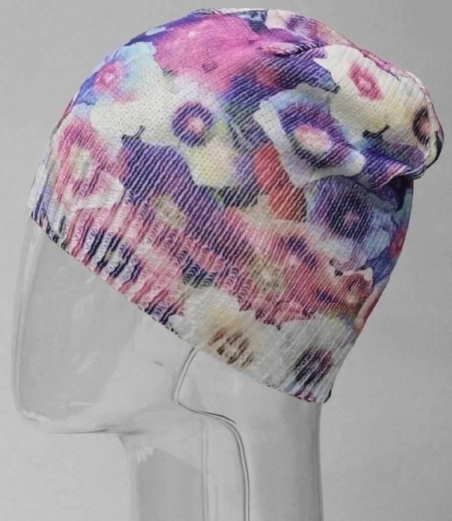 Шапка для девочки Marhatter, цвет: светло-розовый. MFH8225. Размер 55/56