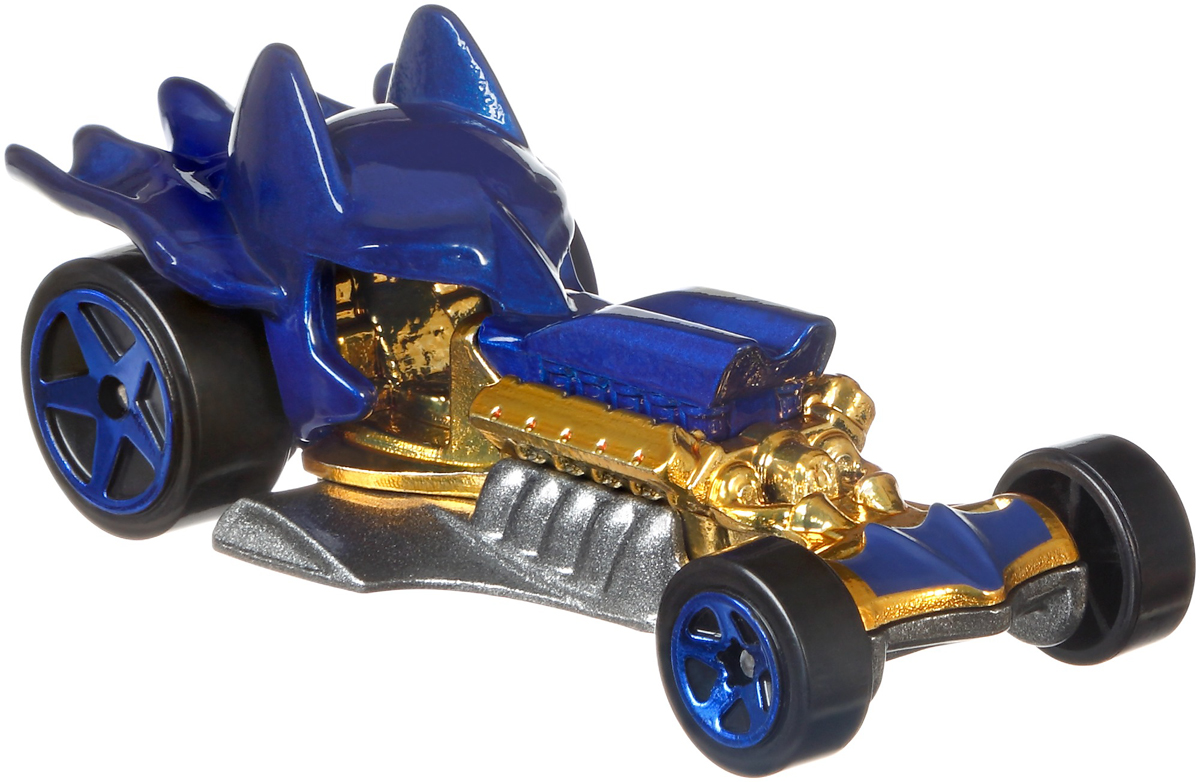 Hot Wheels DC Batman Hot Rod цвет синий желтый hot