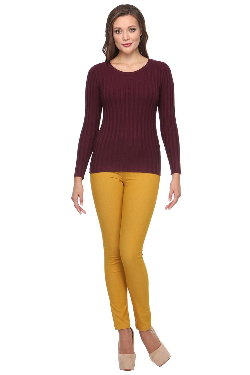 Джемпер женский Conso, цвет: бордовый. KWJS170754. Размер 48 (50)