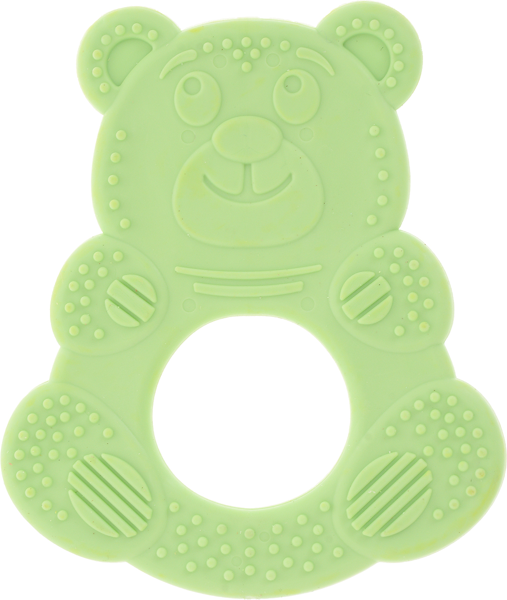 Пластмастер Прорезыватель Миша цвет зеленый