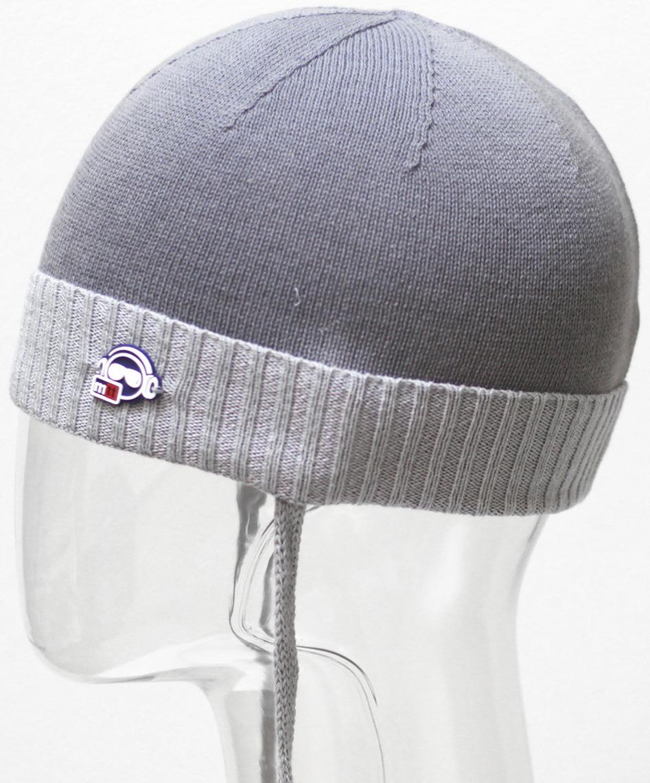 Шапка для мальчика Marhatter, цвет: серый. MBH6504. Размер 50/52 шапка marhatter для мальчика джинс