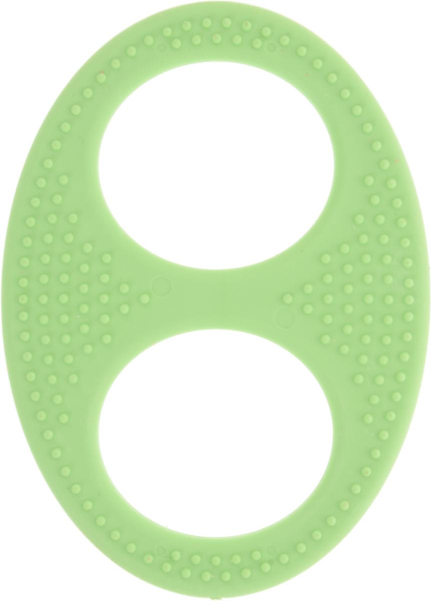 Пластмастер Прорезыватель Бесконечность цвет зеленый