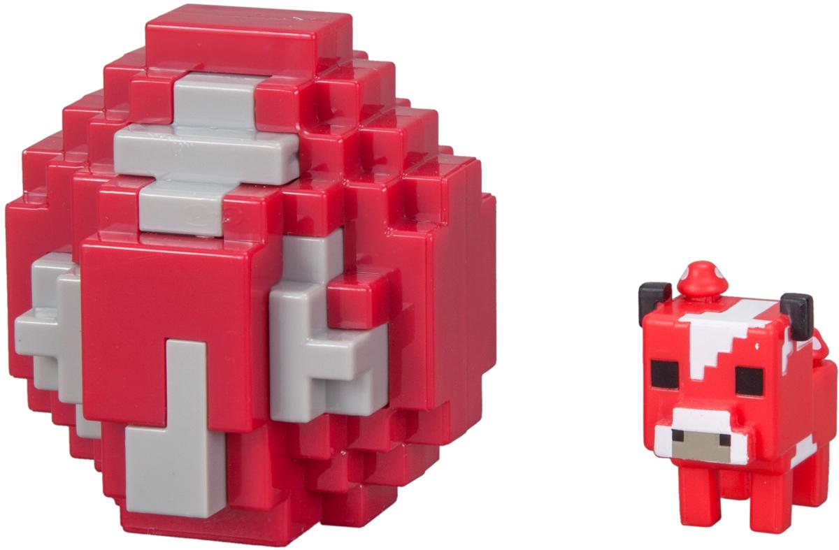 Minecraft Мини-фигурка в яйце цвет красный FMC85 фигурка funko pop games minecraft – ocelot 9 5 см