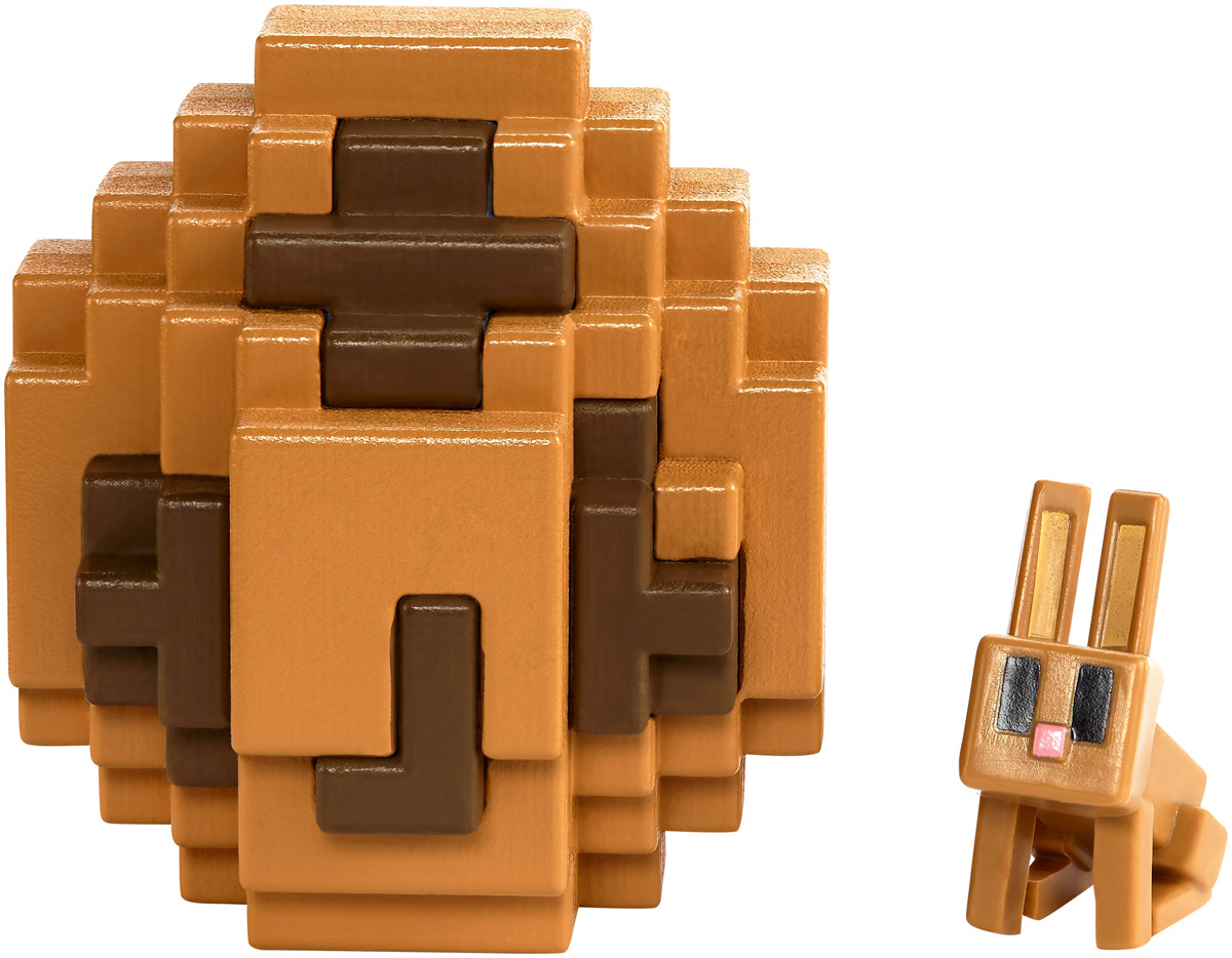 Minecraft Мини-фигурка в яйце цвет оранжевый FMC85 фигурка funko pop games minecraft – ocelot 9 5 см