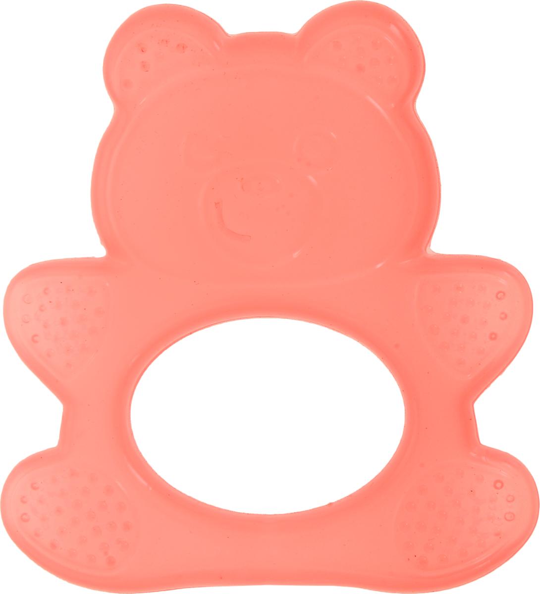 Пластмастер Прорезыватель Воздушный Медвежонок цвет коралловый