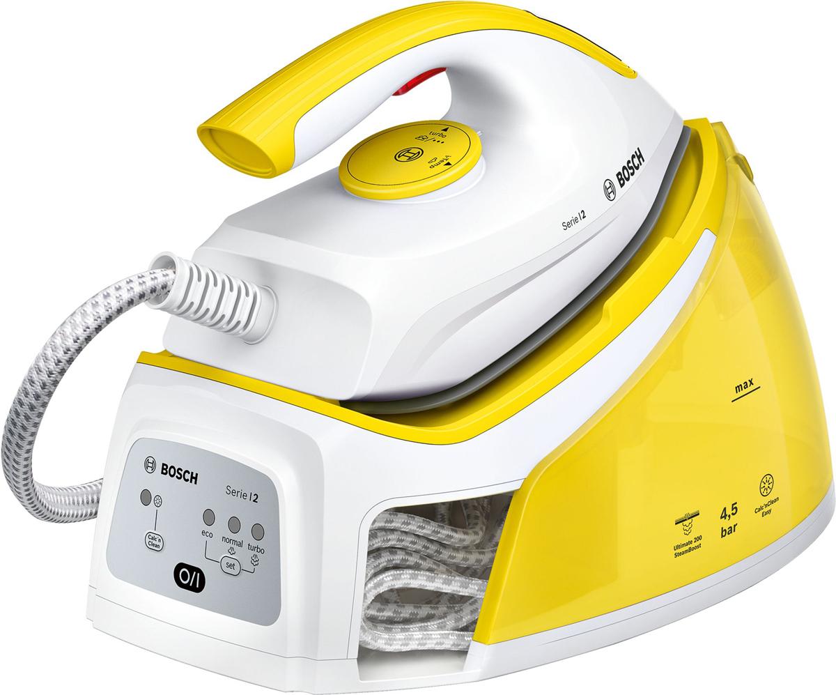Bosch TDS2120, Yellow White парогенератор - Гладильные системы