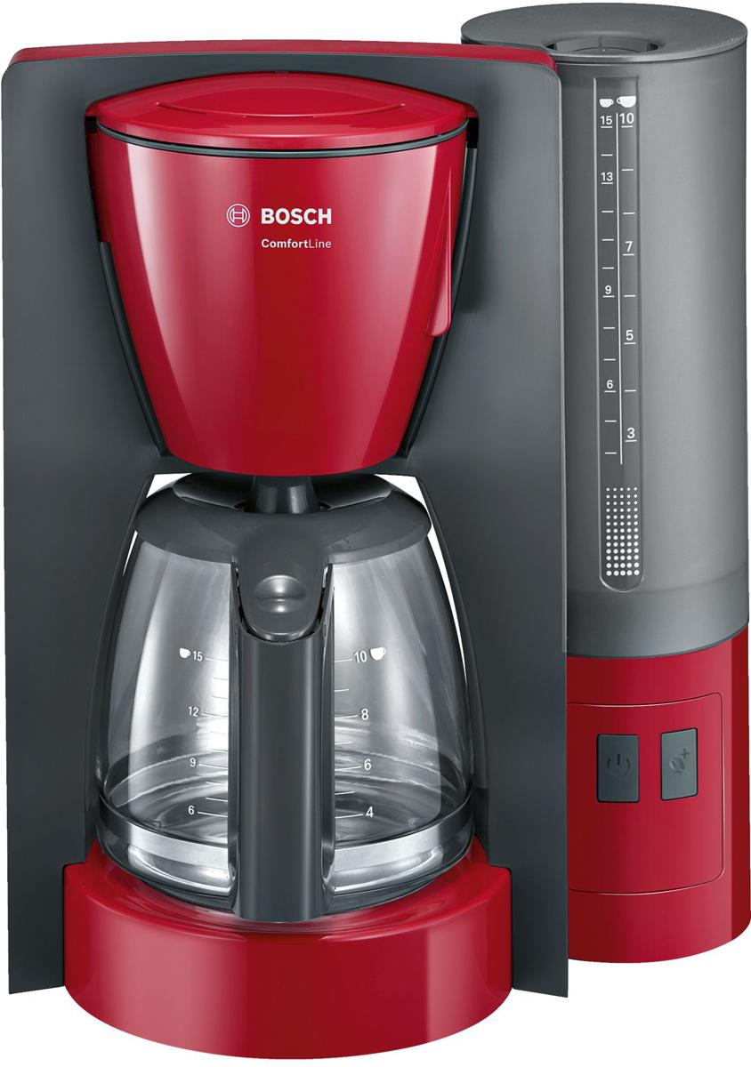 Bosch ComfortLine TKA6A044, Red Gray кофеварка
