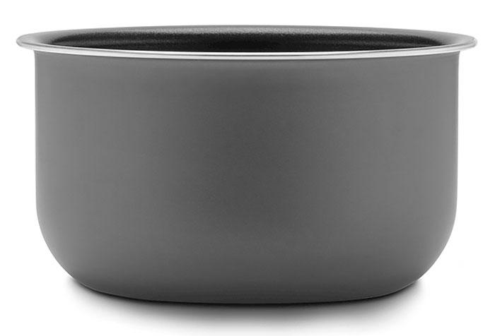 Stadler Form Inner Pot 3L чаша для мультиварки sfc.929SFC.005Алюминиевая чаша для мультиварок Stadler Form Chef One. Имеет уникальное антипригарное покрытие от Daikin. Чаша изготовлена из пятислойного анодированного алюминия. Кроме того, чаша имеет структуру дна в виде сот и основание толщиной 3,6 мм. В отличие от традиционных антипригарных покрытий керамика совершенно безопасна, она прекрасно моется без каких-либо специальных средств или приспособлений. Кроме того, керамика практически не подвержена износу и пища не будет пригорать к стенкам чаши при самом интенсивном использовании в течение долгих лет. При этом вы можете готовить с минимальным количеством масла, что имеет важное значение для диетического меню. Вкус блюд, приготовленных в чаше с керамическим покрытием, будет выгодно отличаться от блюд, приготовленных в обычной металлической чаше с антипригарным покрытием. Подходит для мультиварки Stadler Form с артикулом SFC.929