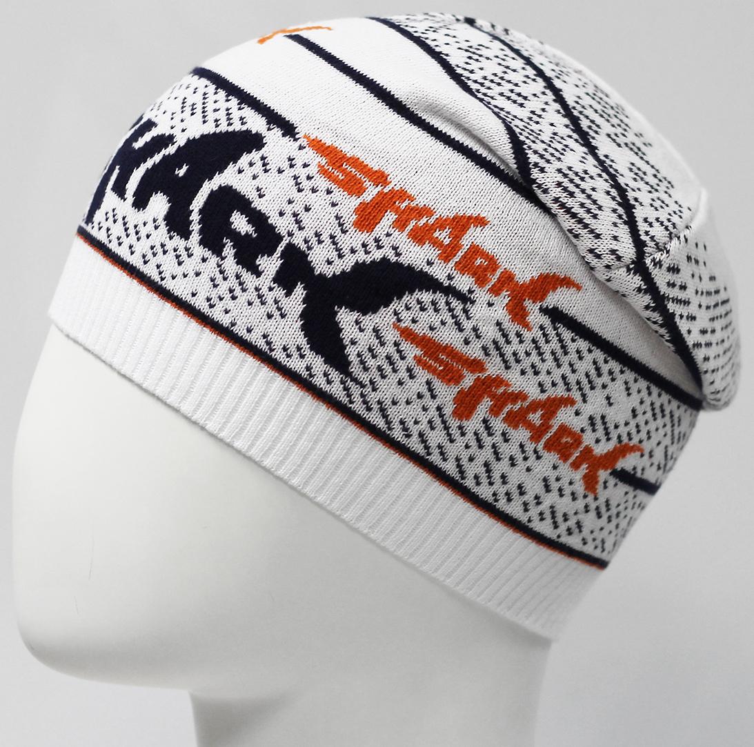 Шапка для мальчика Marhatter, цвет: белый. MBH7532. Размер 52/54MBH7532Хлопковая шапка для мальчика. Стильная модель с жаккардовым узором. Прекрасно подойдет для повседневных прогулок. Размер, доступный для заказа, является обхватом головы.