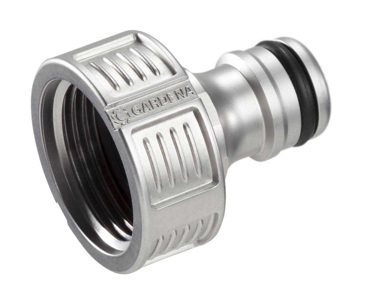 Штуцер резьбовой Gardena Premium, 3/4, 26,5 мм. 18241-20.000.00 штуцер gardena резьбовой 3 4