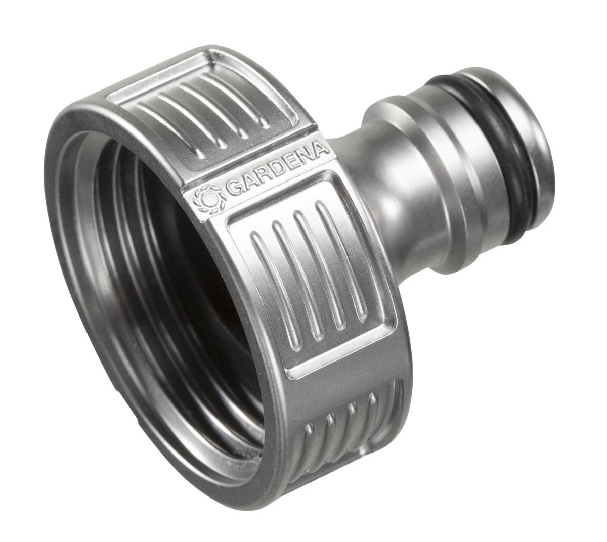 """Штуцер резьбовой """"Gardena"""" позволяет быстро и легко нарастить шланг или подключить необходимый аксессуар. Все соединения герметичны. Легко устанавливается и не требует использования инструментов. Защита от брызг."""