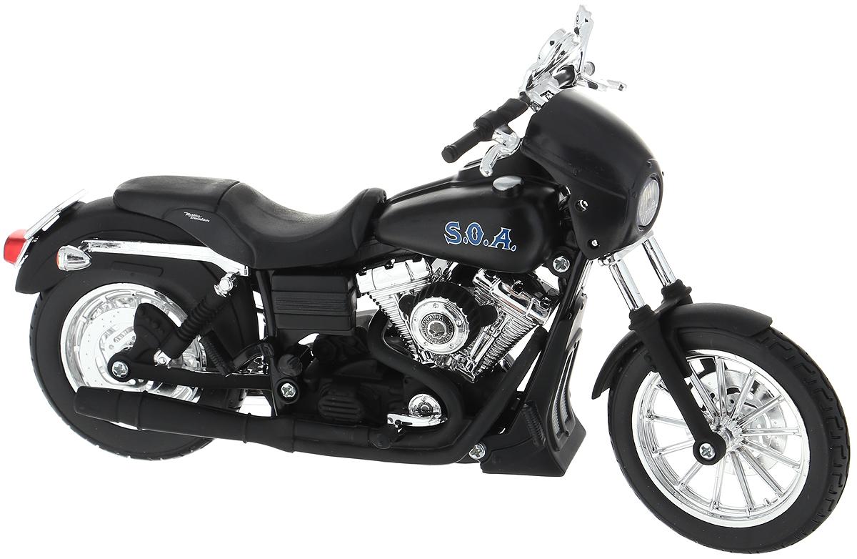 Maisto Мотоцикл 2006 Fxdbi Dyna цвет черный двигатель на мотоцикл минск в ижевске
