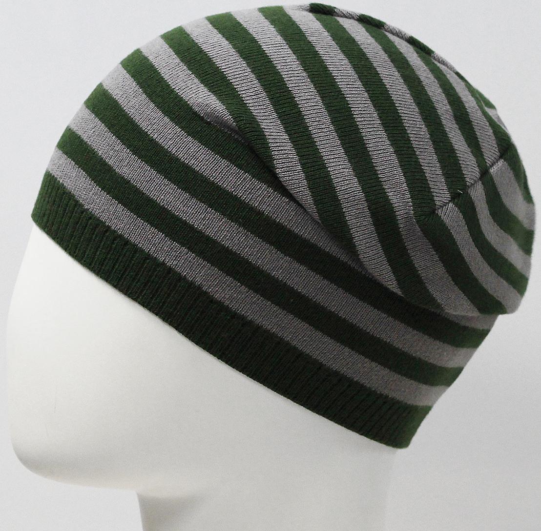 Шапка для мальчика Marhatter, цвет: зеленый. MBH7533. Размер 50/52MBH7533Хлопковая шапка для мальчиков с контрастным сочетанием полос. Прекрасно подойдет для повседневных прогулок. Размер, доступный для заказа, является обхватом головы.