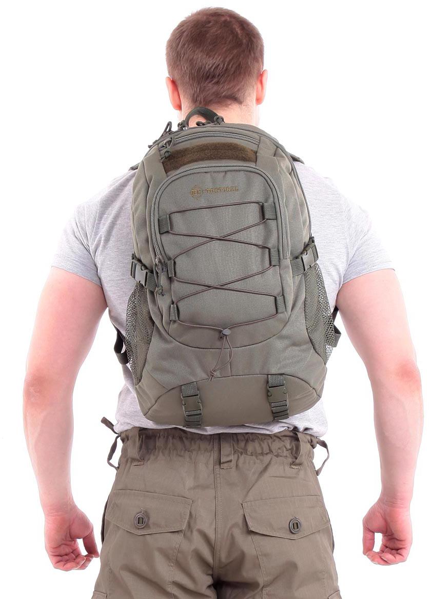 Рюкзак туристический KE Tactical  Mission , цвет: оливковый, 25 л. 9020101 - Туристические рюкзаки