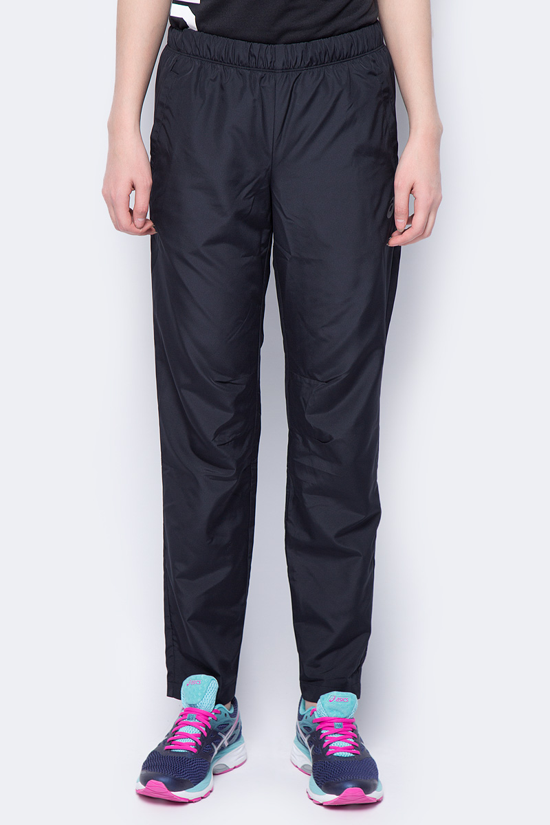 Брюки женские Asics Woven Pant, цвет: черный. 154266-0904. Размер XS (42) 4pcs rhodium plated carbon fiber xlr plug connector hifi audio 3pin m