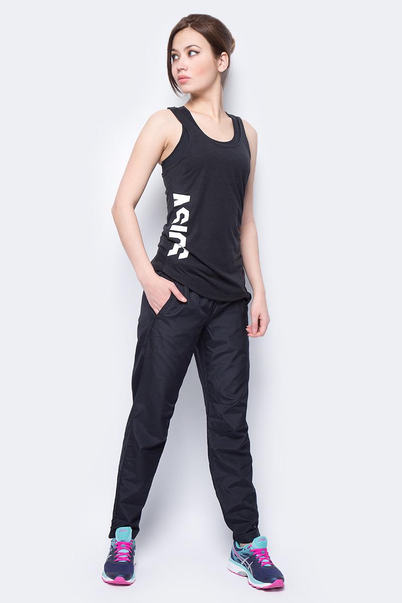 Брюки женские Asics Woven Pant, цвет: черный. 154266-0904. Размер XL (50)154266-0904