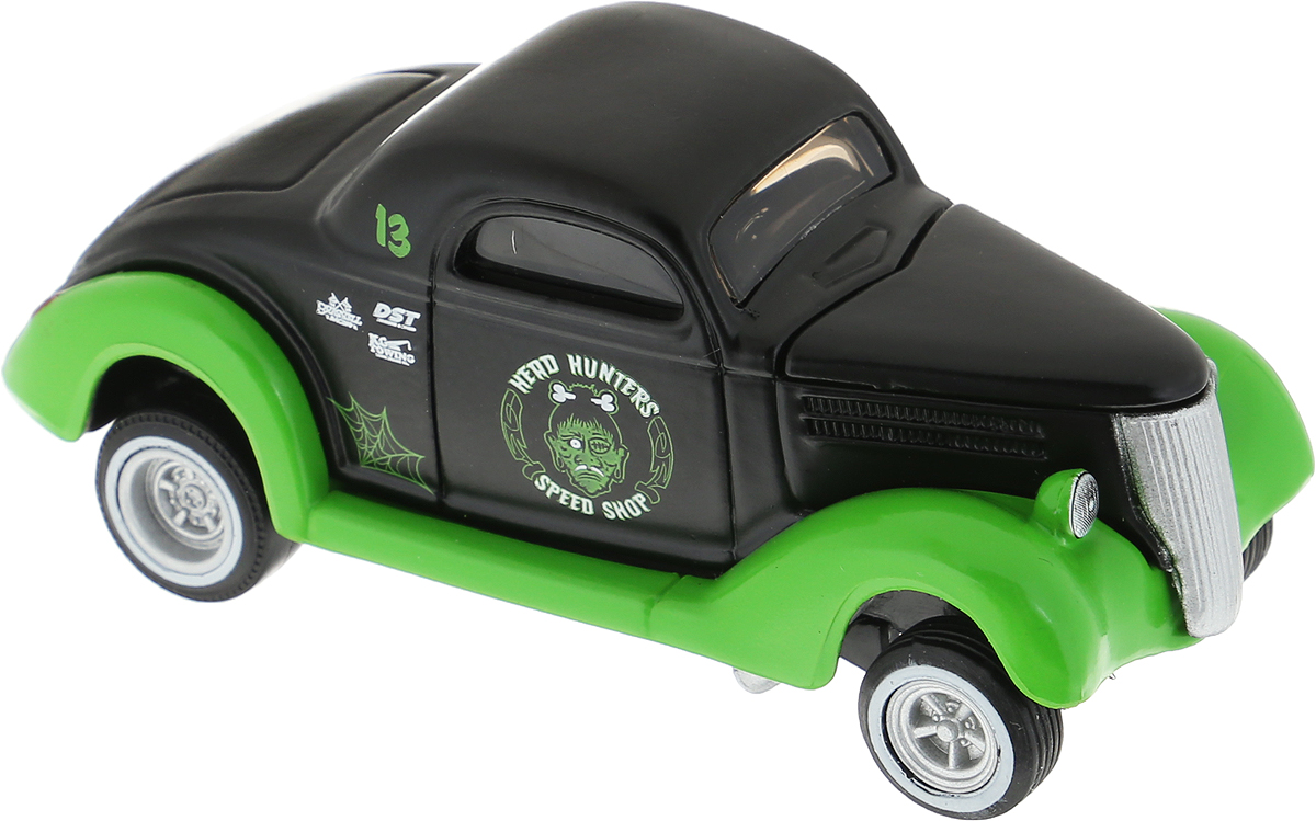 Maisto Модель автомобиля 36 Ford Coupe цвет черный зеленый