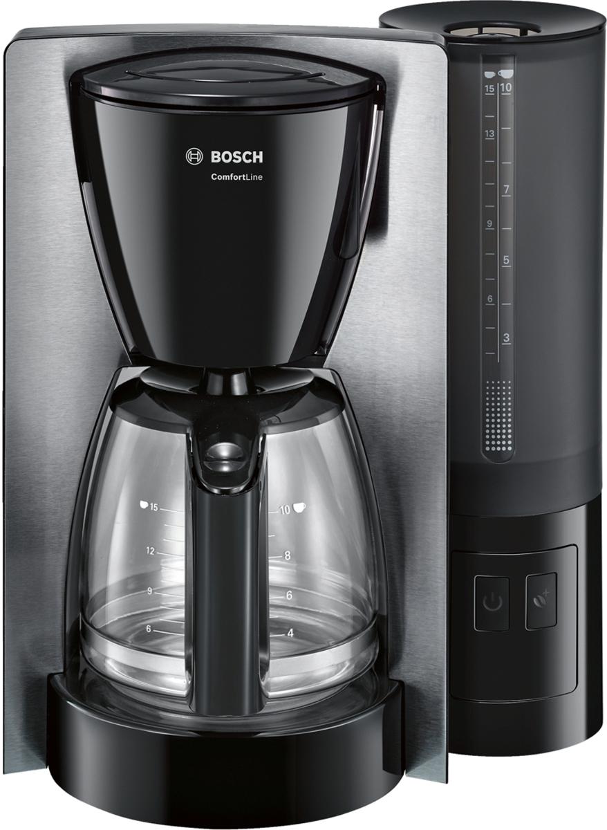 Bosch ComfortLine TKA6A643, Black Gray кофеварка ями yami рука красные облака стеклянный кофейник кофе горшок 600cc ym5096