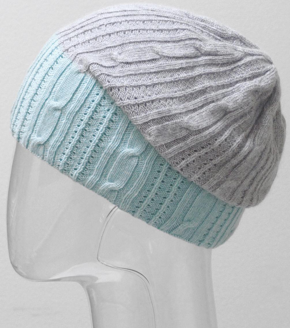 Шапка женская Marhatter, цвет: бирюзовый. MWH6540. Размер 56/58 шапка женская nuages цвет голубой nh 742 106 размер универсальный