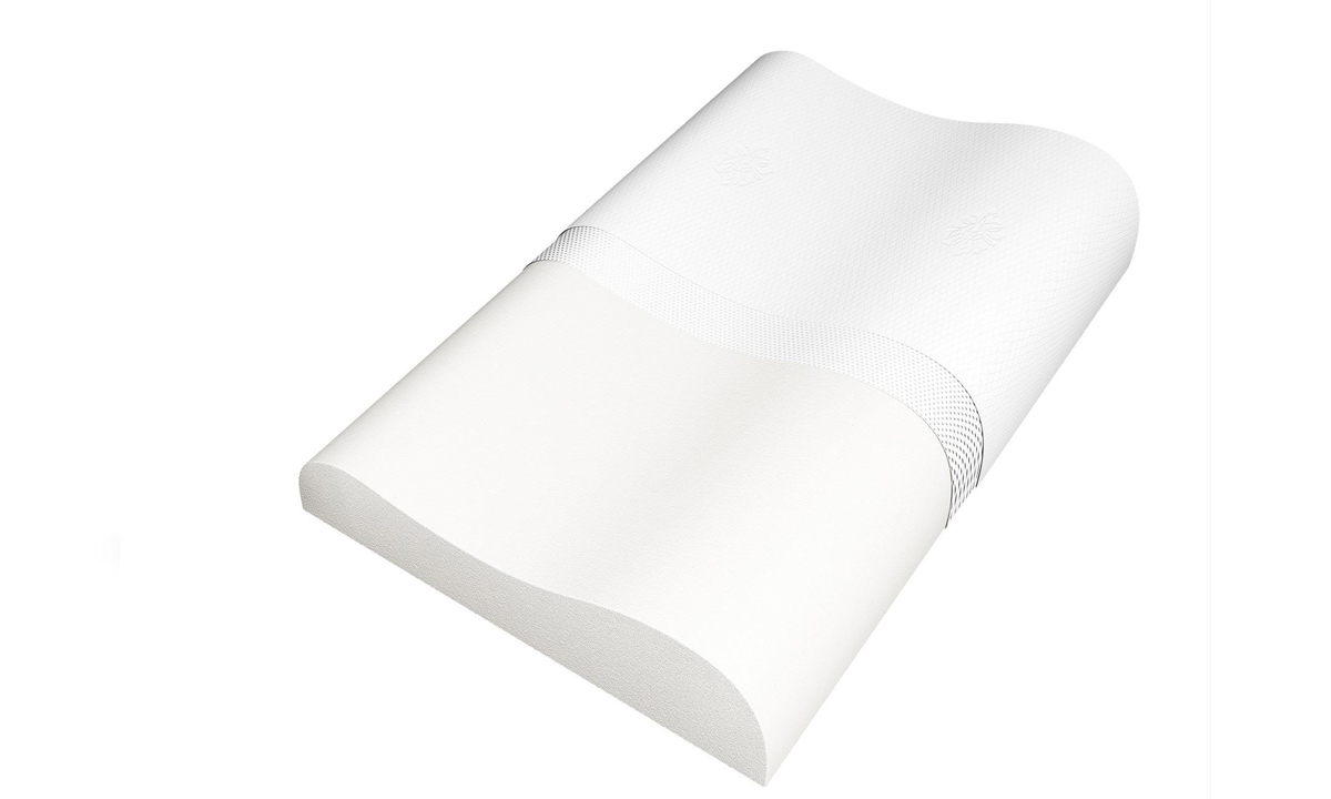 Подушка анатомическая Сонум Vela, 50 x 70 см00-00001642Анатомическая подушка Vela эргономичной формы. Подушка изготовлена из уникального материала с эффектом памяти, который реагирует на давление и тепло. Подушка идеально подстраивается под форму головы и шеи. Выбор подушки является важным фактором в организации спального места, обеспечивающим комфортный сон и хорошее самочувствие. Материал наполнителя - мемори-форм, инновационный материал на основе натурального латекса. Обладает эффектом памяти формы, благодаря чему принимает форму лежащего на нем человека.