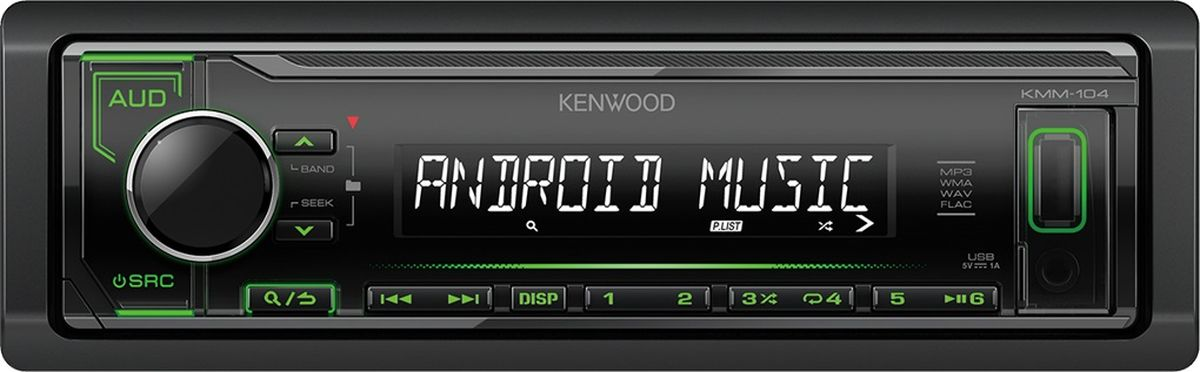 Kenwood KMM-104GYавтомагнитола Kenwood