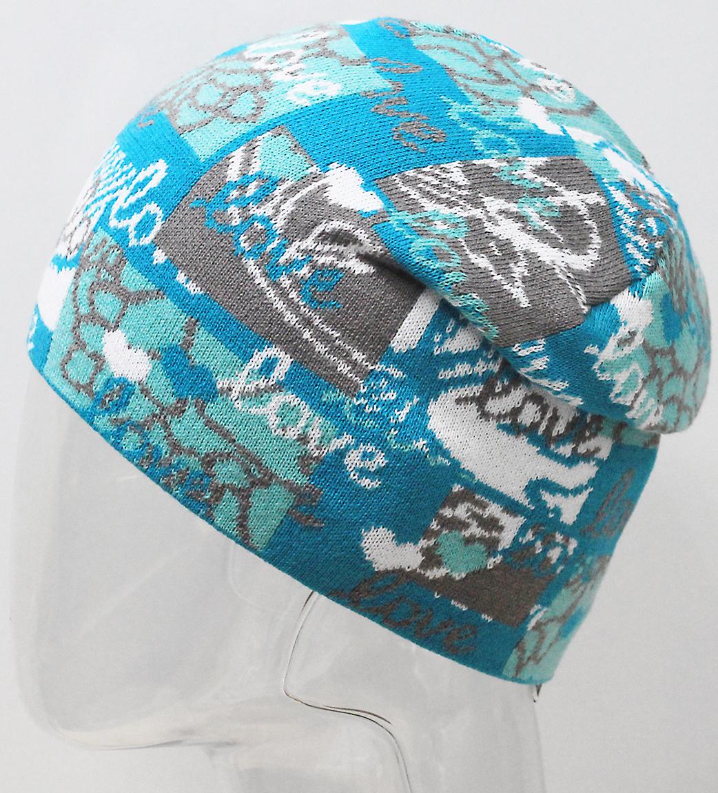 Шапка для девочки Marhatter, цвет: зеленый. MFH7300. Размер 55/56MFH7300Стильная шапка с современным дизайном, выполненная из хлопка. Сочетание цветов в оригинальном жаккардовом узоре. Такая модель дополнит образ современной молодежи. Размер, доступный для заказа, является обхватом головы.
