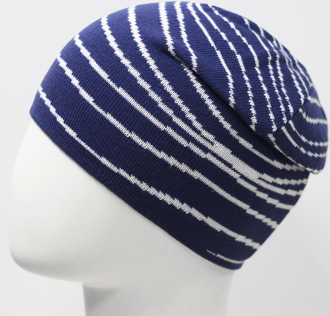 Шапка для мальчика Elfrio, цвет: синий. RBH7496. Размер 52/54RBH7496Стильная шапка для мальчика Elfrio идеально подойдет для прогулок в холодное время года. Изготовленная из высококачественного материала, она обладает хорошими дышащими свойствами и отлично удерживает тепло. Изделие великолепно тянется и удобно сидит. Такая шапочка великолепно дополнит любой наряд. Шапка украшена контрастным геометрическим узором. Такая шапка станет модным и стильным дополнением гардероба вашего ребенка. Она поднимет ему настроение даже в самые морозные дни! Уважаемые клиенты!Размер, доступный для заказа, является обхватом головы.