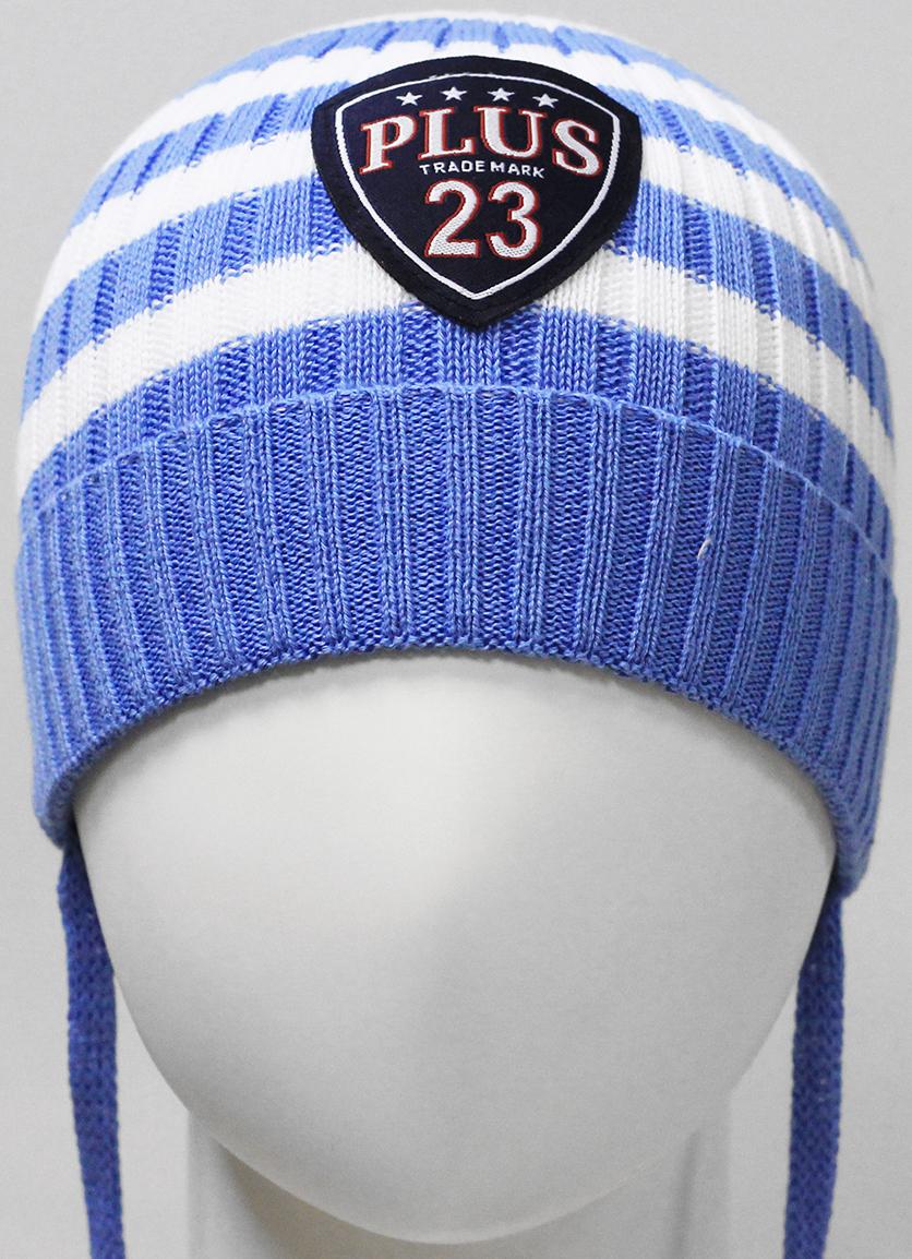 Шапка для мальчика Marhatter, цвет: голубой. MIH7411. Размер 44/46