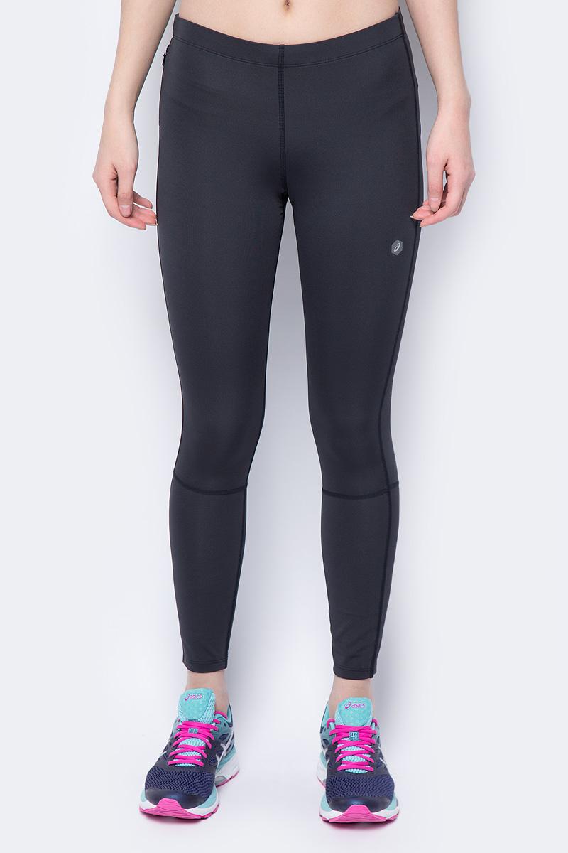 Тайтсы для бега женские Asics 7/8 Tight, цвет: черный. 154560-0904. Размер XL (50) тайтсы для бега женские asics ess winter tight цвет черный 134114 0904 размер xl 50 52
