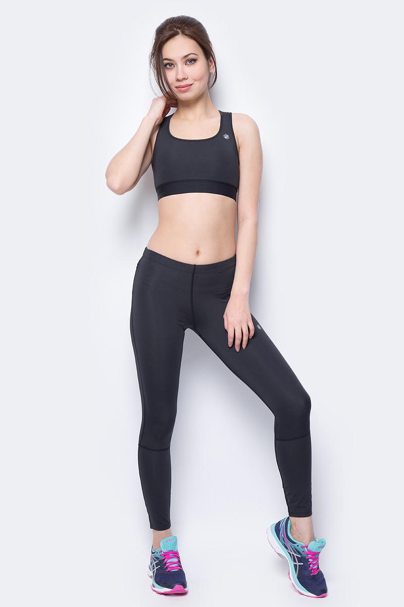 Тайтсы для бега женские Asics 7/8 Tight, цвет: черный. 154560-0904. Размер XS (42) asics леггинсы 7 8 tight s 1263 ss18