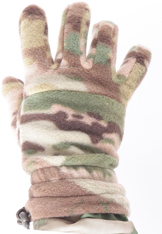 Перчатки спортивные Keotica, цвет: коричневый, зеленый. 1021103. Размер L/XL (8/8,5)1021103Перчатки из флиса. Они дышат, согревают и быстро сохнут при намокании.
