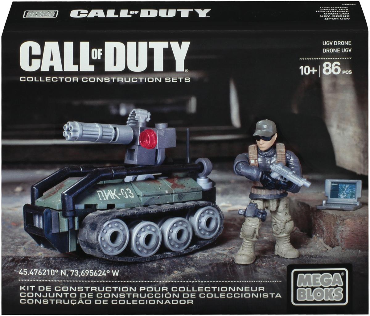 Mega Bloks Call Of Duty Конструктор Беспилотный наземный аппарат Drone mega bloks call of duty конструктор ghost rappel fighter