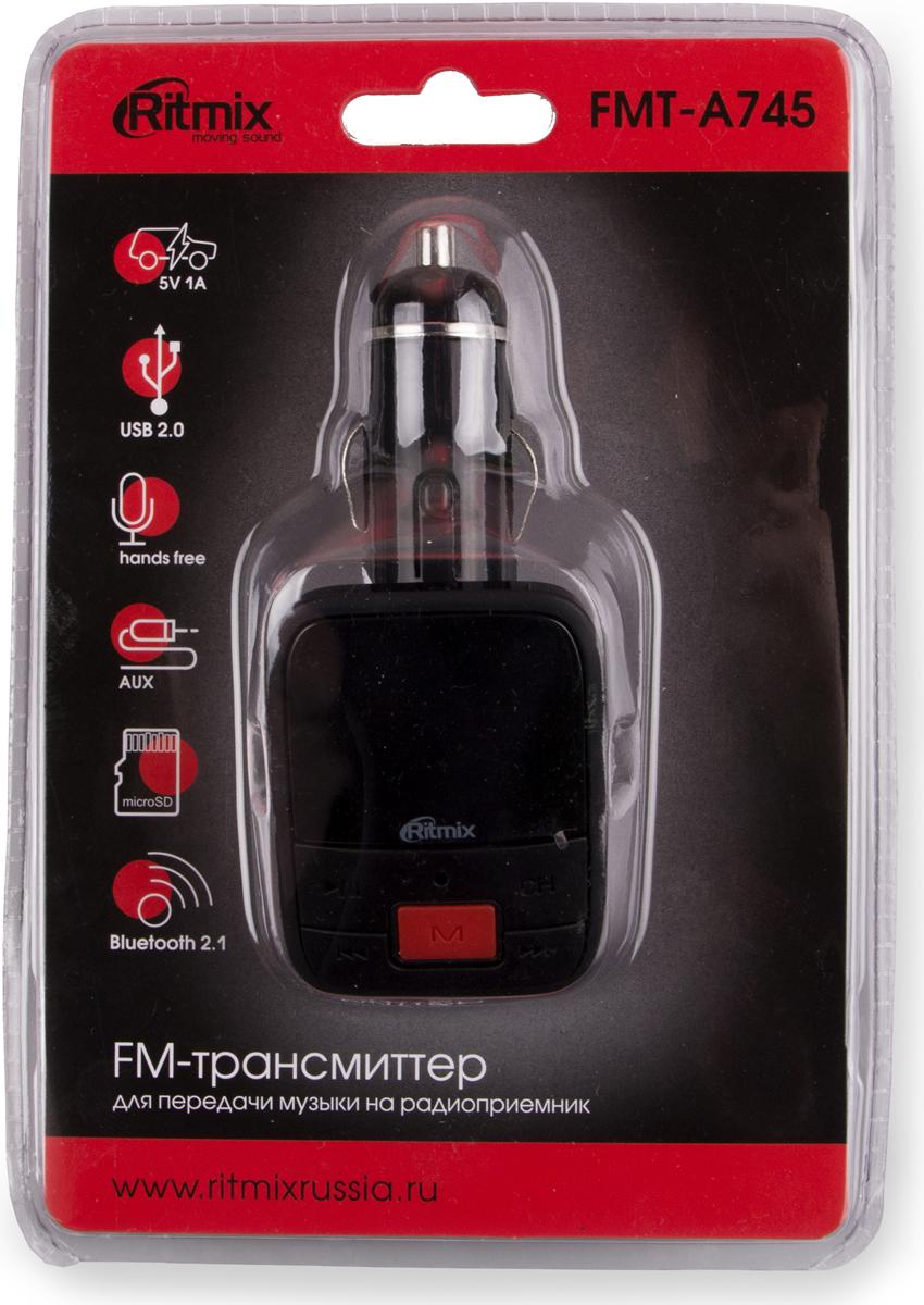 Ritmix FMT-A745, Black FM-модулятор