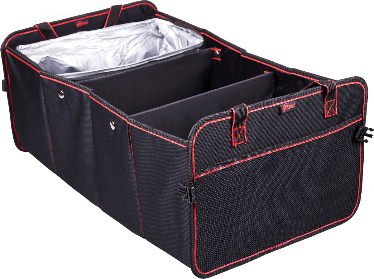 Органайзер автомобильный Ritmix RAO-1552, цвет: черный15119301Органайзер в багажник со съемным термоотделением.