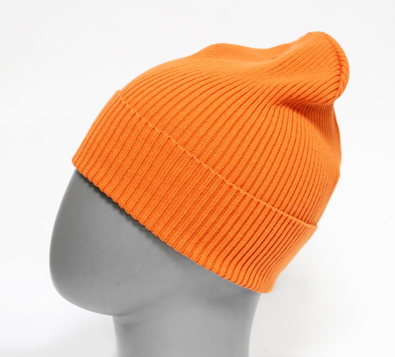 Шапка для девочки Marhatter, цвет: коричнево-красный. MFH5605. Размер 55/56MFH5605Стильная однотонная шапка с отворотом, выполненная из хлопка. Отлично подойдет для ежедневных прогулок. Размер, доступный для заказа, является обхватом головы.