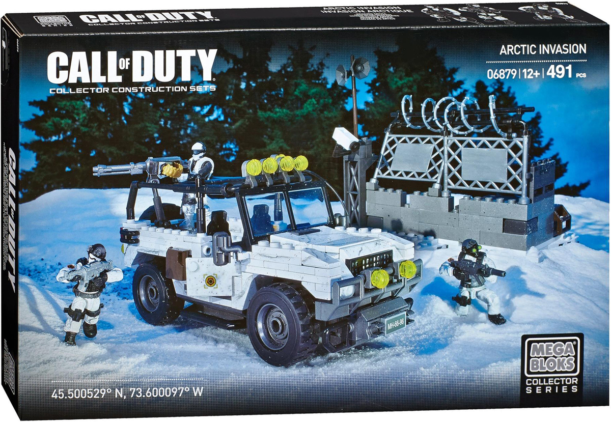 Mega Bloks Call Of Duty Конструктор Арктическое вторжение
