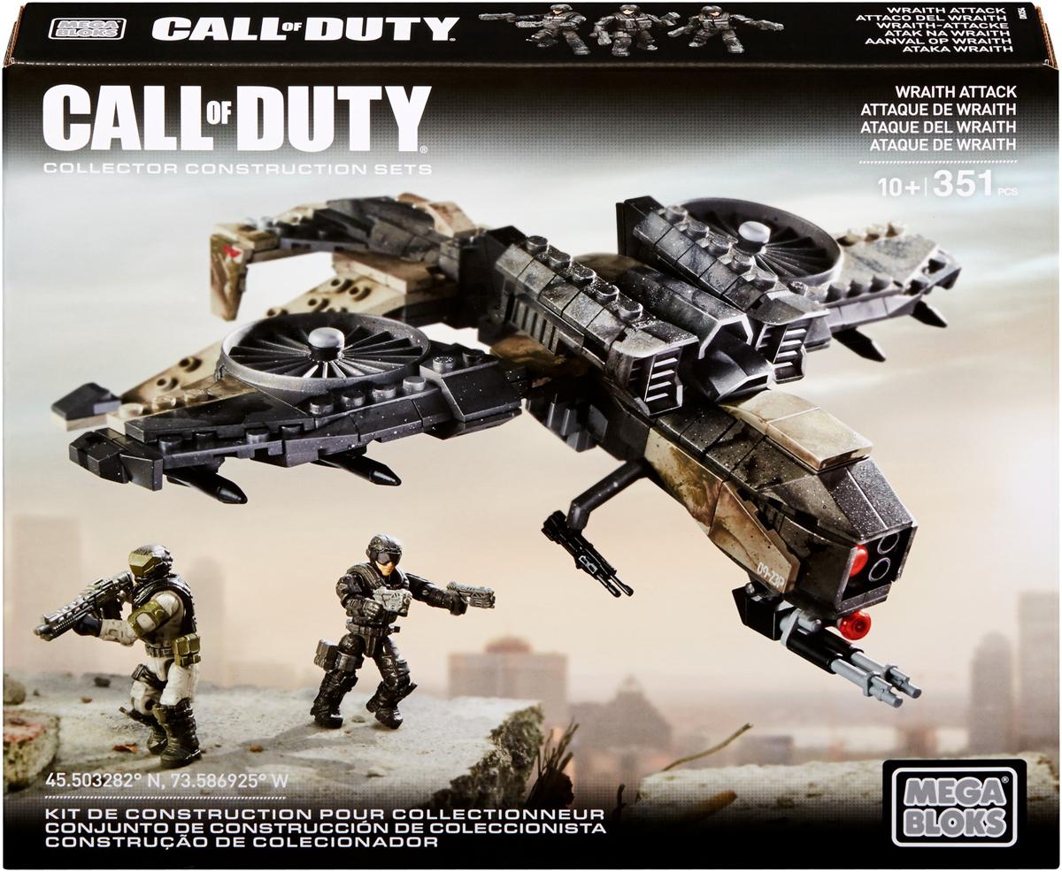 Mega Bloks Call Of Duty Конструктор Наступление летательные аппараты