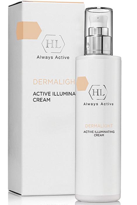 Holy Land Dermalight Active Illuminating cream активный осветляющий крем128057Крем с койевой кислотой, витаминами В 3 и С, обогащенный комплексом растительных экстрактов, способствующих уменьшению выраженности пигментных пятен, выравниванию и осветлению тона кожи.