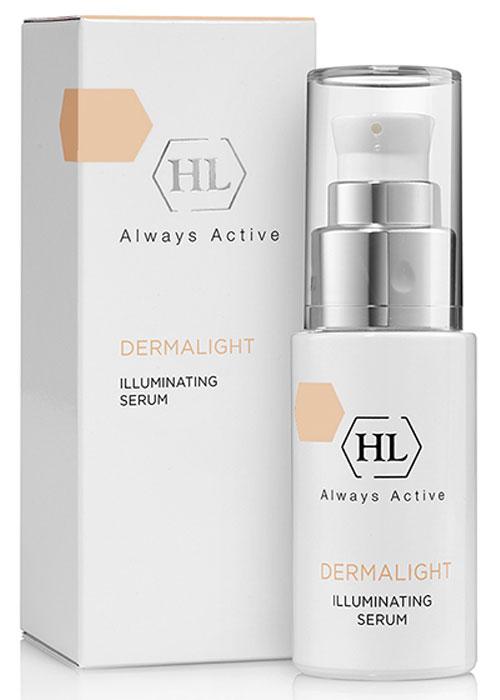 Holy Land Dermalight Illuminating Serum осветляющая сыворотка128078Активная осветляющая сыворотка с азелаиновой кислотой, арбутином и витамином Е. Разработана для осветления пигментных пятен.