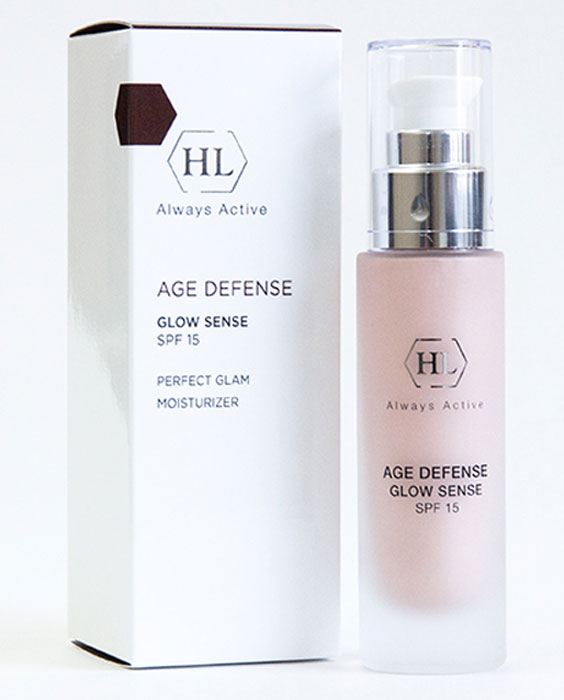 Holy Land Age Defense Glow Sense (SPF 15) крем с декоративным эффектом holy land alpha complex multifruit system day defense cream spf 15 дневной защитный крем 50 мл