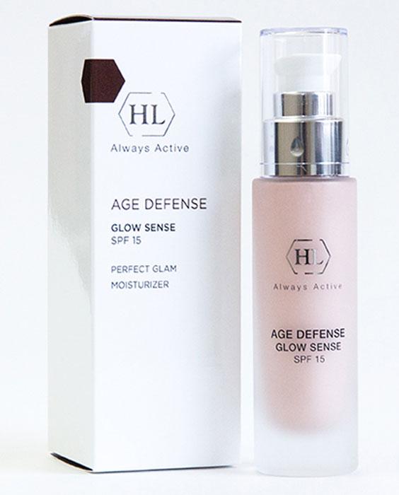 Holy Land Age Defense Glow Sense (SPF 15) крем с декоративным эффектом158307Увлажняющий крем с солнцезащитным и декоративным эффектом. Выравнивает тон кожи, придает ей блеск и сияние.