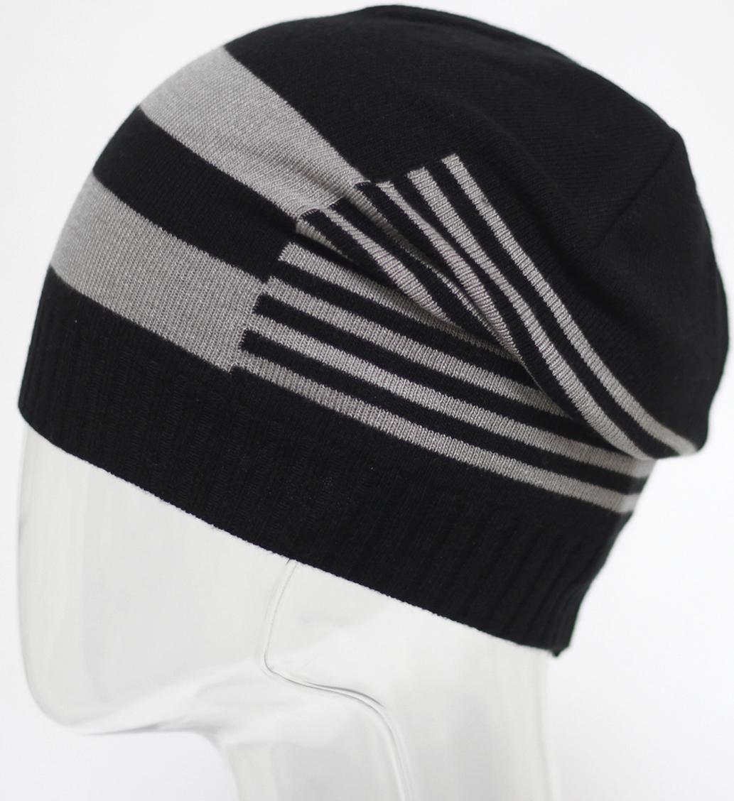 Шапка мужская Marhatter, цвет: черный. MMH5637. Размер 57/59MMH5637Полушерстяная шапка обладает модным дизайном, который будет актуальным как на спортивных мероприятиях, так и в повседневной жизни. Размер, доступный для заказа, является обхватом головы.